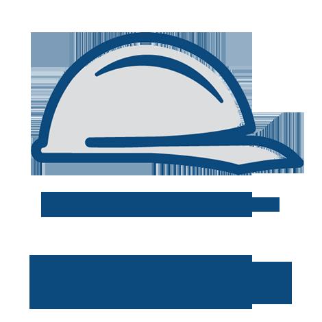 Wearwell 720.58x3x7BYL Double Duty Switchboard Corrugated Mat, 3' x 7' - Black w/Yellow