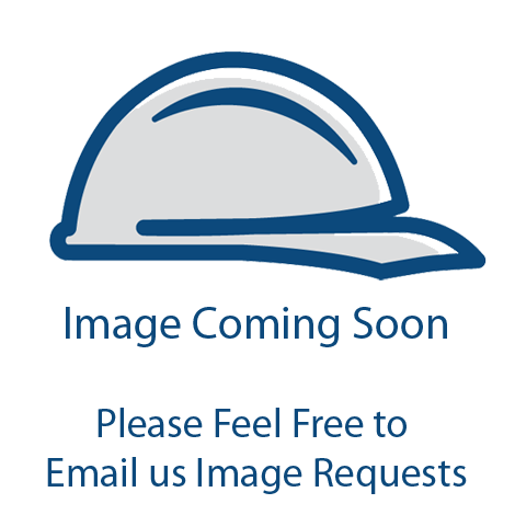 MCR Safety S2117 Blackjack Safety Glasses, Metal Temples w/Non-Slip Grips, Wrap-Around Silver Mirror Lens