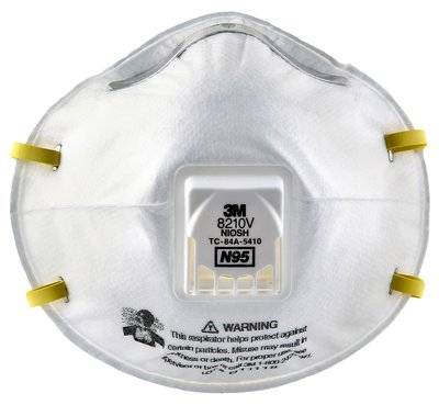 3M 8210V N95 Particulate Respirator